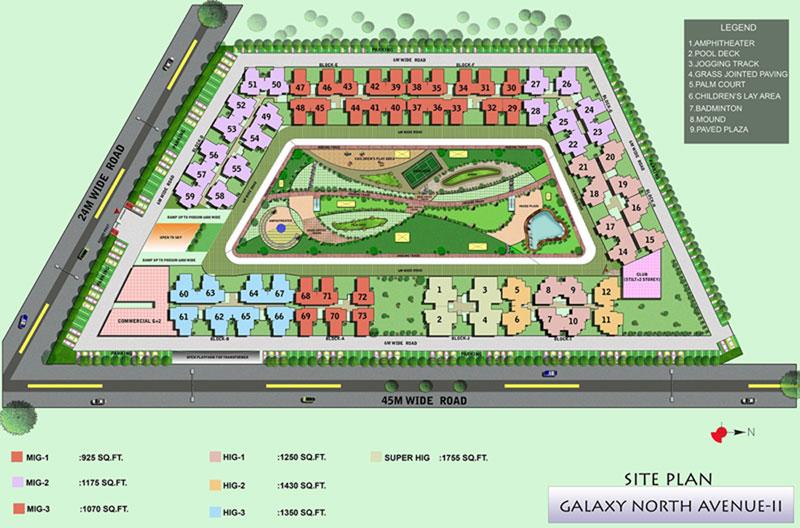 Galaxy North Avenue 2 Site Plan