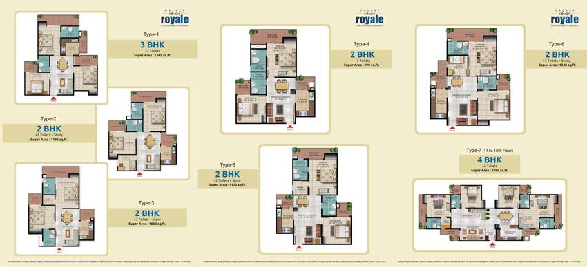 Galaxy Royale Site Plan